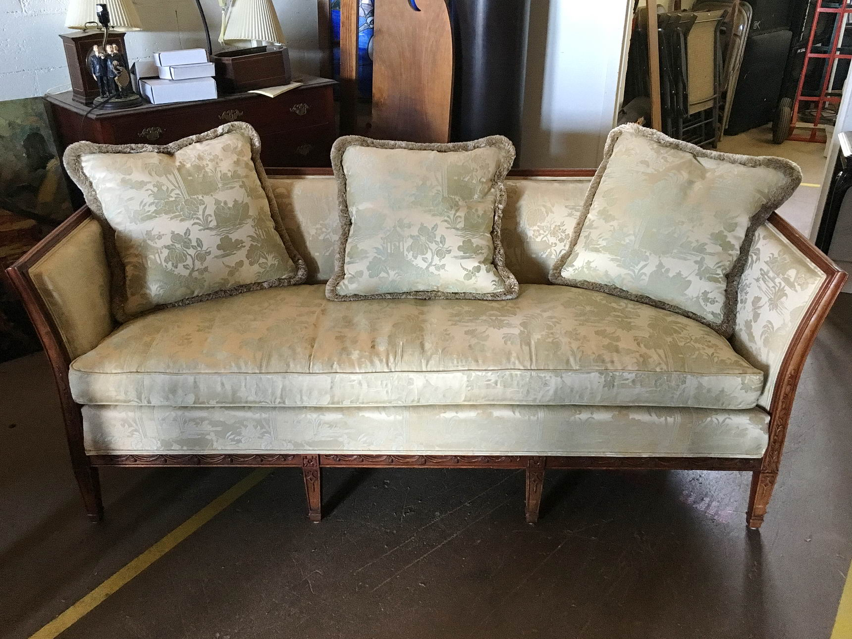American Federal Style Sofa   01